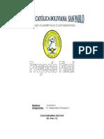 Proyecto Control II