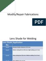 Modify Repair Fabrications