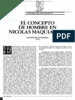 Concepto del hombre en Nicolás Maquiavelo