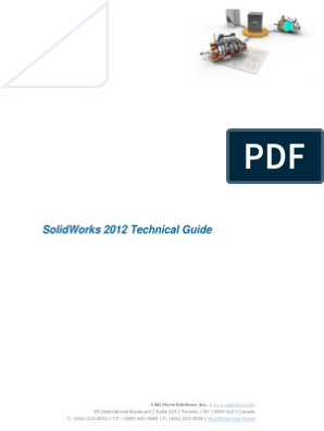 SolidWorks 2012 Technical Guide Installation Procedures