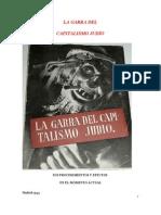 LA GARRA DEL CAPITALISMO JUDÍOo