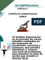 CAPITULO 1 ANALISIS EMPRESARIAL