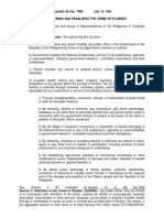 Plunder Law - RA 7080
