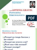 Patologia Miastenia Gravis