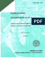 Instrucciones Oceanográficas Nº 3