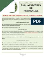 Edital 1º 2014