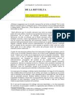 La Revuelta Comunera (5). Objetivos de La Revuelta