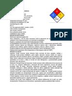 Fichas Tecnica Practica #3 Quimica Aromatica