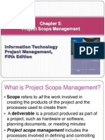 Project Scope Managment