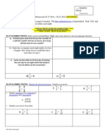 4 – Math Homework 02.17-- 02.21.2014  Original & Modified