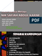 Baru Tokoh Bahasa Melayu-Nik Safiah Abd Karim