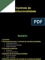 Controle de Constitucionalidade TUDO