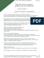 Guide to Classical Persuasive Speech Writing   Public Speaking Scribd