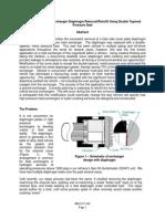 _Diaphragm Elimination Using Taper-Lok - NPRA
