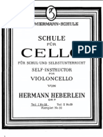 Heberlein Self Instructor Volume I (Cello School)