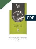 4-Jorge Diaz - Topografia de Un Desnudo