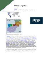 Historia del idioma español