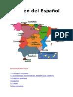 Origen del Español