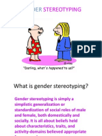 Gender Stereotyping