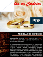 Bodas Do Cordeiro