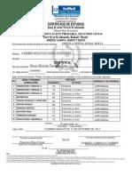 Certificado Ciclo II