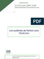 Les systèmes de fichiers sous Gnu-Linux