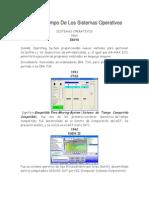 Línea Del Tiempo De Los Sistemas Operativos