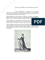 CONCEITOS FUND HISTÓRIA DA ARTE  Heinrich Wolfflin