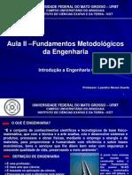 Aula II - Fundamentos Metodológicos