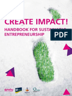 Create Impact for Sustainable Entrepreneurship