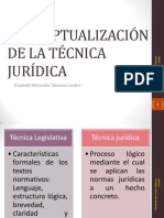 Tecnica Juridica