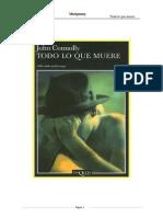 Connolly John - Charlie Parker 1 - Todo Lo Que Muere