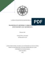 Laporan Praktikum Elektronika Dasar - Fisika UGM