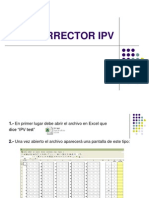 Manual Corrector IPV