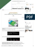 Crear USB Booteable de WINDOWS 7(Mediante Ms-dos) - Taringa!