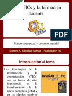 1TIC y La Formacionm Docente