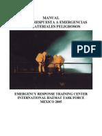 Manual Primera Respuesta a Matpel 2005 Mexico