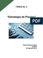 Etrategias de Precio p37612 Pedro Romero s