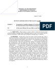 13-2003 termination and handling of audit