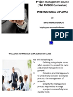 International Diploma in Project Management