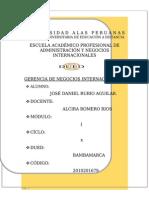 ADM Y  INT.- TA – 10 – GERENCIA DE NEGOCIOS INTERNACIONALES - UAP