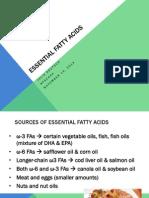 advanced nutrition efa presentation