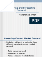 Measuring and Forecasting Demand