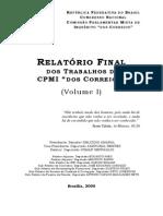 Relatório Final da CPI dos Correios - 1ª Parte