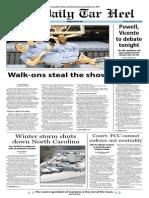 The Daily Tar Heel for Feb. 17, 2014