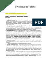 DTB0315 - Direito Proccessual Do Trabalho
