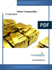Daily Commodity Market Technical Analysis 17-02-2014