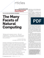 The Many Facets of Natural Computing