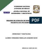 Pae Pie Diabetico Tanatologia