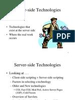 08 Server-Side Technologies